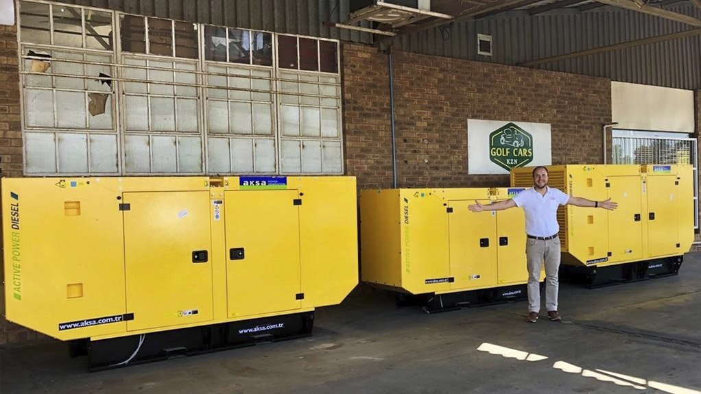 RICHARD FRASER It is advisable to run generators at least twice a month for half an hour to keep them in a good working condition