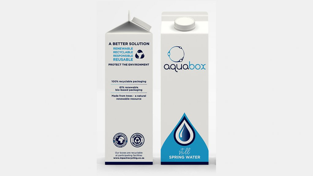 Aquabox supplying local water in 'most sustainable beverage packaging'