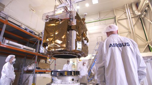 Airbus satellites arrive at their launch site