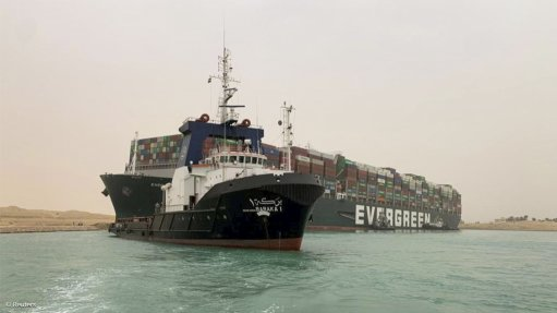 Suez snarl seen halting $9.6bn a day worth of ship traffic