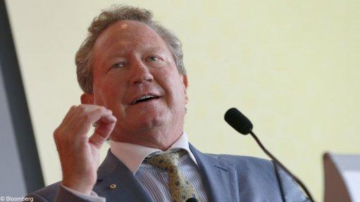 Australian mining billionaire Andrew Forrest