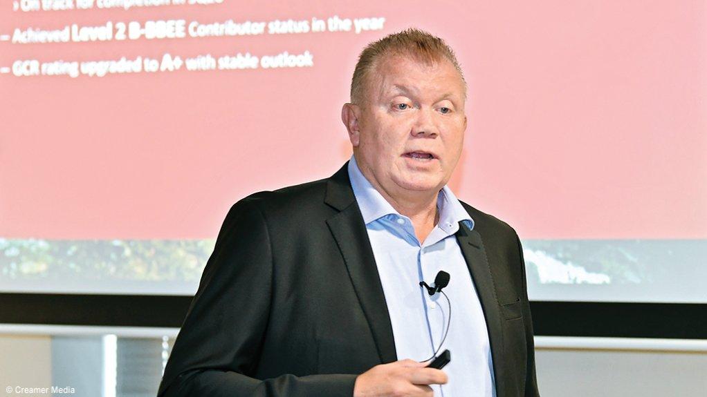 AECI CEO Mark Dytor