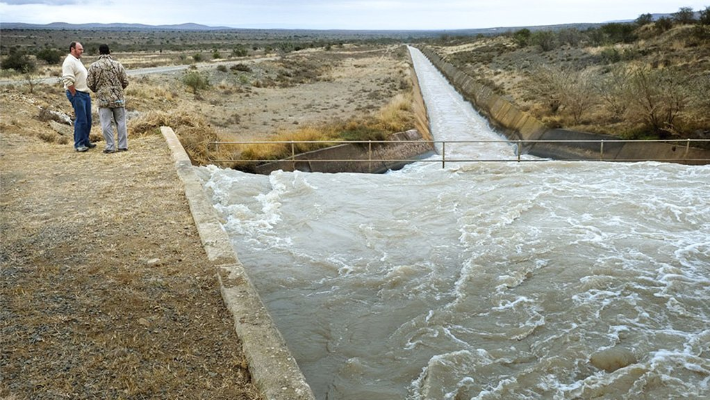 The Beenleegte weir on Electric Fish