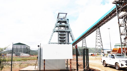 Covid affects use of platinum miner's shafts