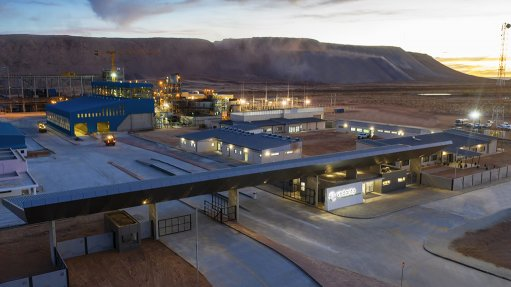 ROUND TWO The successful ramp up of the Gamsberg mine and its processing plant has been reported