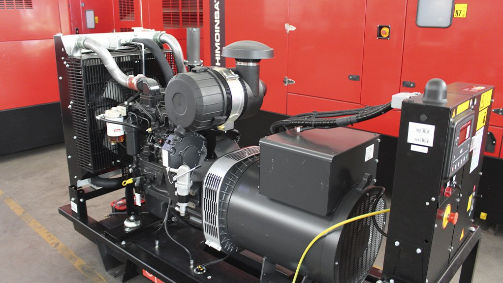 NEW GENSET The new HGY-25, available in 50 Hz and 60 Hz, is powered by natural gas, delivering 28 kVA of continuous operation power