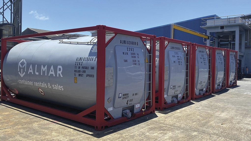 Almar ISOTainers – the ultimate bulk liquid storage solution