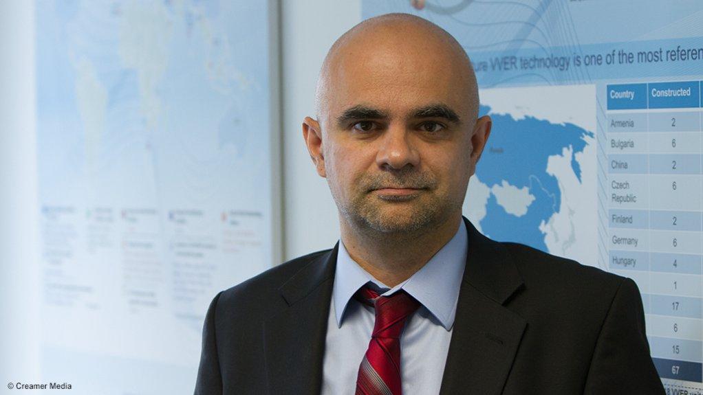 Hydrogen South Africa Infrastructure Centre director Professor Dmitri Bessarabov.