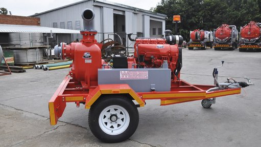 JACK OF ALL TRADES The pump unit is also suited for use in the paper, textile, food processing, chemical, utilities, mining, tanning and water purification industries