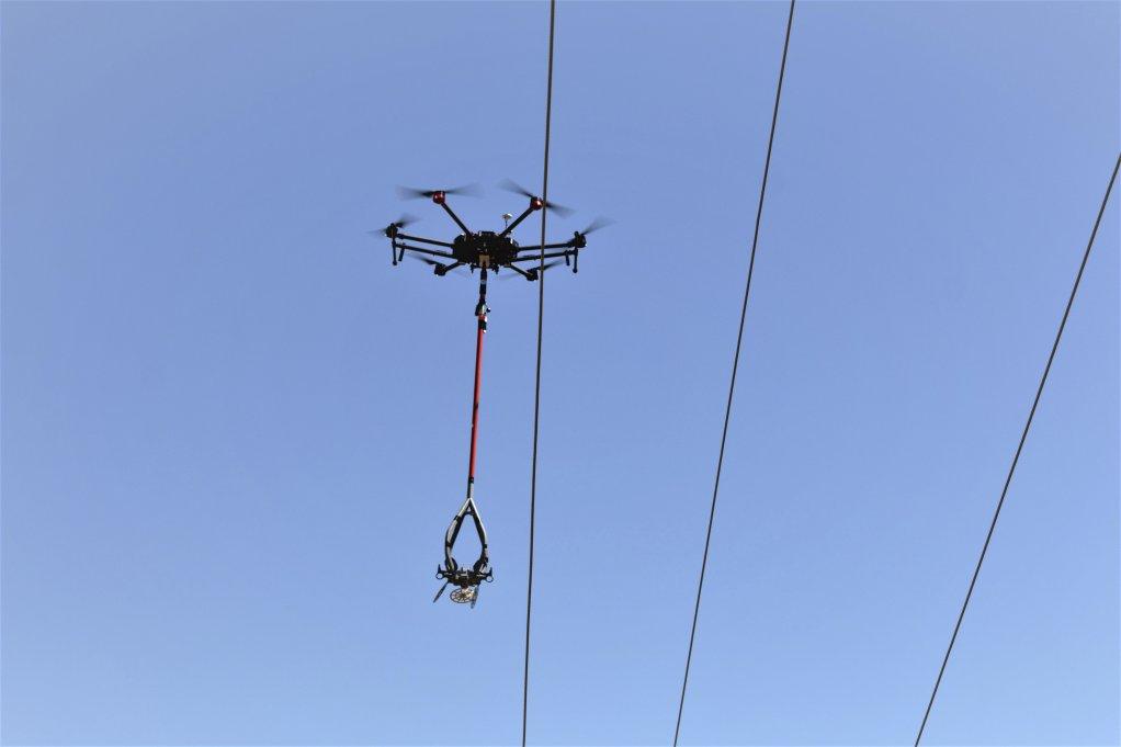 EWT, Eskom use drones to deploy bird flight diverters