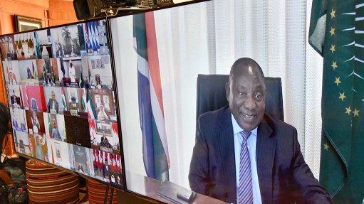 Africa must expand medical manufacturing capacity – Ramaphosa