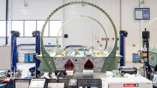 Crucial component for new Airbus airliner completed and moved to final assembly facility