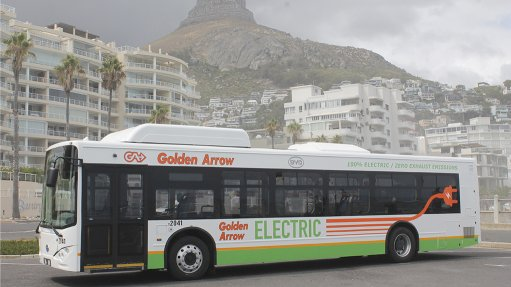 Golden Arrow rolls out electric bus pilot study