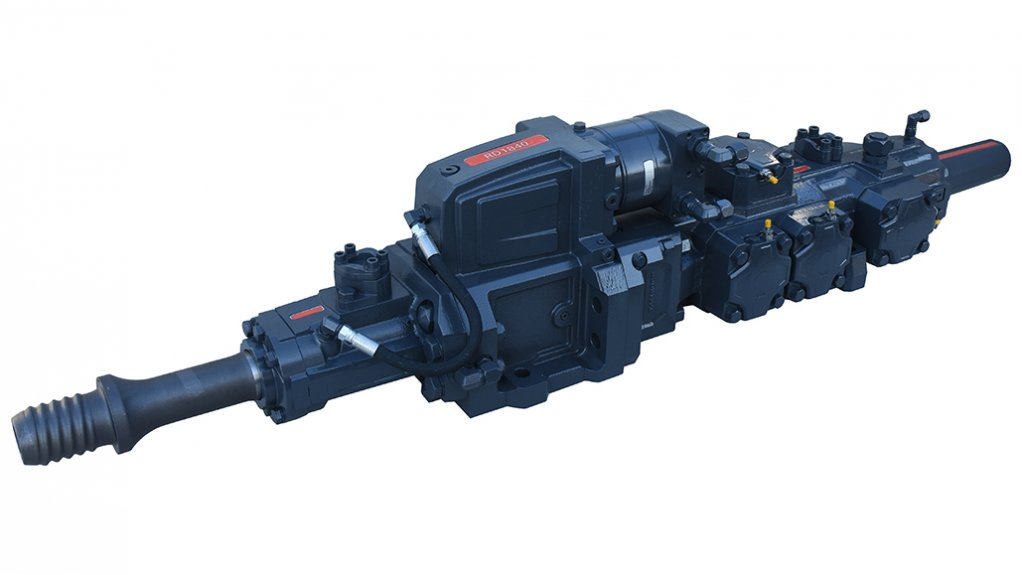HARD TO BEAT Percussion of the RD1840C is optimised for large hole drilling, providing high impact energy together with optimal pulse form to 178 MM