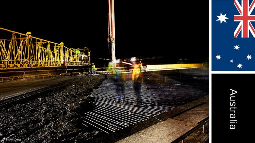 Gas industry roads upgrades programme, Australia