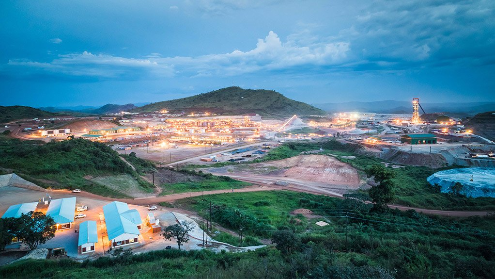 The Kibali gold mine is owned by Barrick Gold and AngloGold Ashanti.