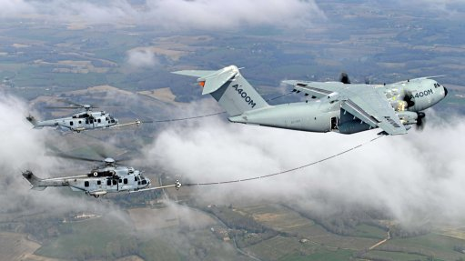 Airbus A400M completes helicopter air-to-air refuelling certification