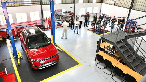 Mahindra SA opens new training centre