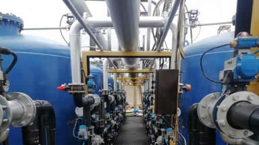CARRY-ION Being able to save water on a month to month basis is now possible subsequent an upgrade on a mines water treatment plant