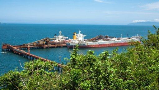 Vale's Mangaratiba iron-ore terminal shut down