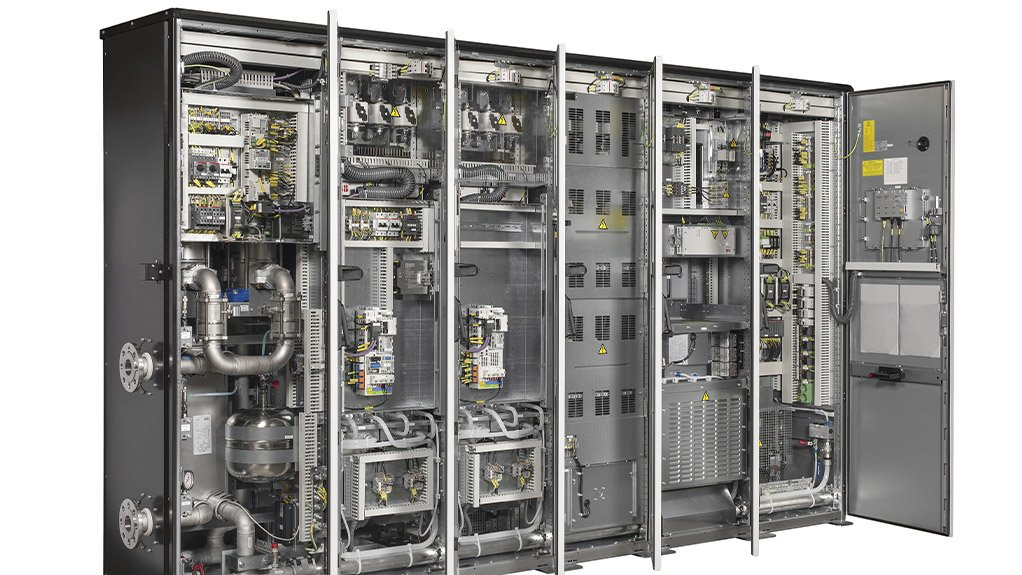 LIQUID COOLED DRIVES This portfolio of liquid cooled drives technology includes a reduced footprint of up to 30%