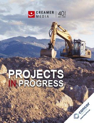 Projects in Progress - April 2021