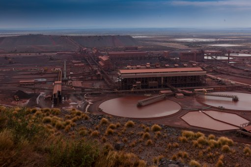Sishen ultrahigh dense-media separation project, South Africa