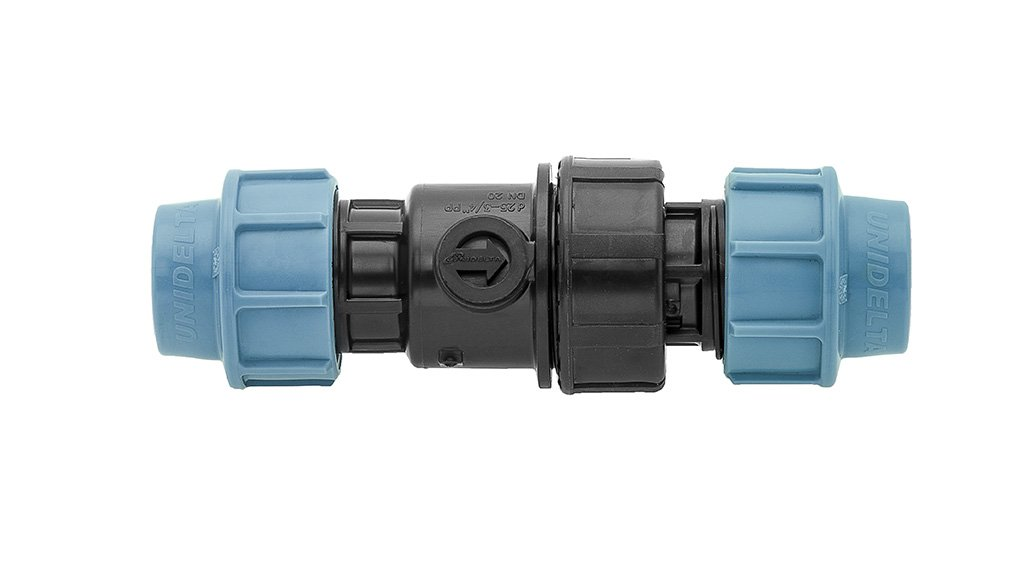 CHECK IT OUT The Unidelta check valve is now available in South Africa