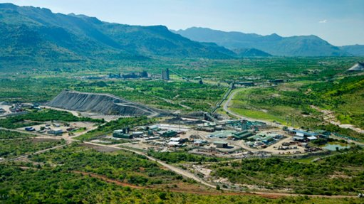 Modikwa mine chrome recovery plant, South Africa