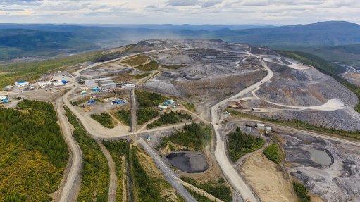 Vysochaishy mine, Russia