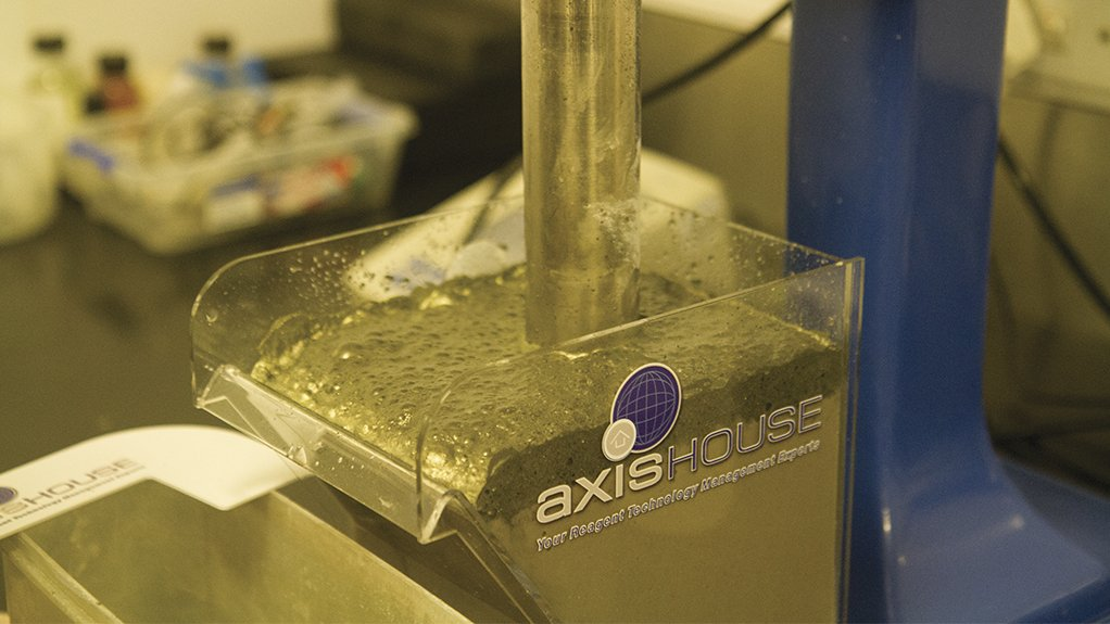 INNOVATIVE TESTING Further, Axis House has newly formulated sulphide collectors that are being tested at various clients in Zambia.