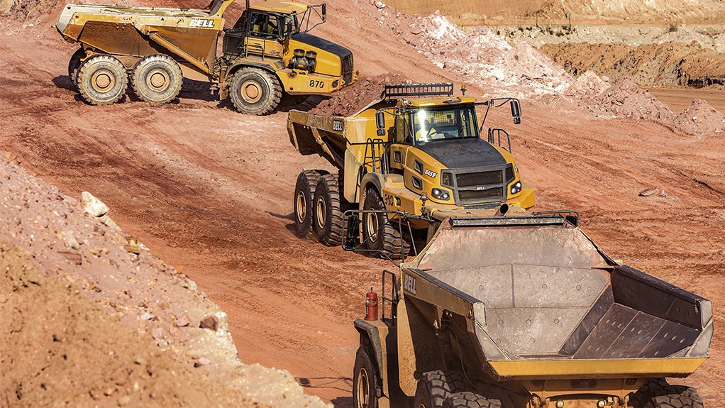 ROBUST RANGE Bell this year will introduce new low-profile ADTs for the underground mining sector in the 30 t and 35 t range, he adds.