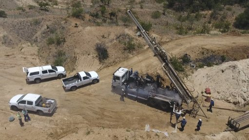 CORE SITE  The goal in this exploration by Botswana Diamonds is to firm up the geological model of both sites, with further work based on the results of the core drilling