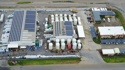ENERGY EFFICIENCY The solar installation provides about 70% of the facility's energy requirement
