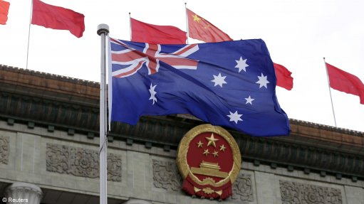 Trade tensions rise between China and Aus