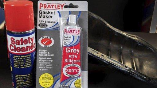 DIY GASKET MAKER The Pratley RTV Silicone Grey Gasket Maker is ideal for gasket making in the automotive repair market