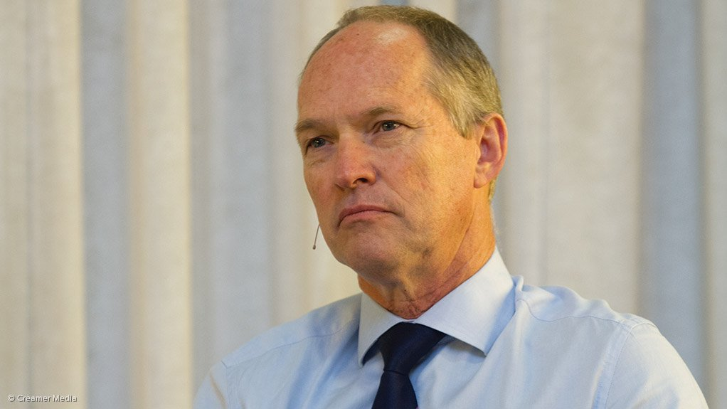 AngloGold executive VP of group planning and technical Graham Ehm