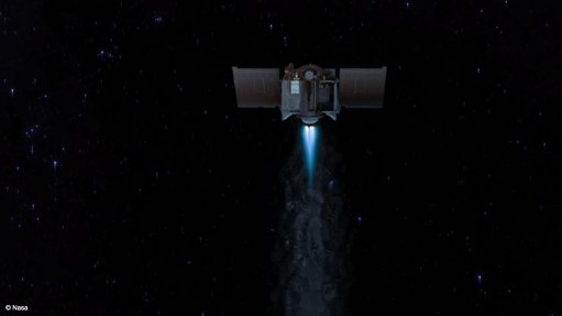 US asteroid probe has started its journey home