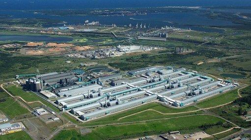 The Hillside aluminium smelter