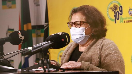 ANC deputy secretary-general Jessie Duarte