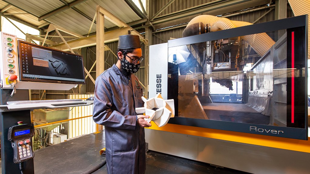 INCREASING EFFICIENCY, MAINTAINING QUALITY  Multotec aims to continue investing in modernising its local manufacturing capabilities