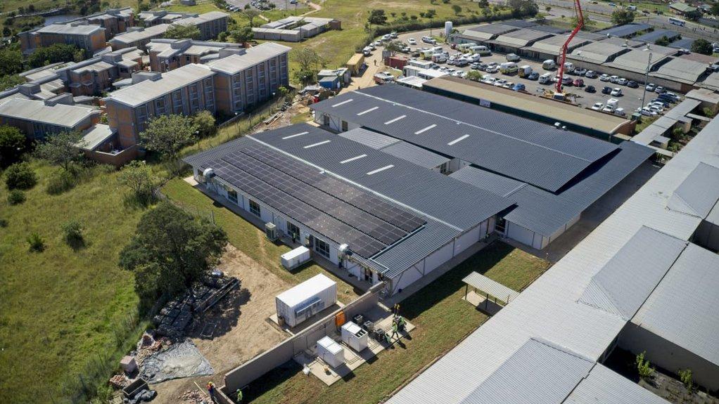 The 100-bed modular hospital