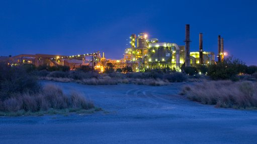 PPC Lime manufacturing facility, in the Northern Cape