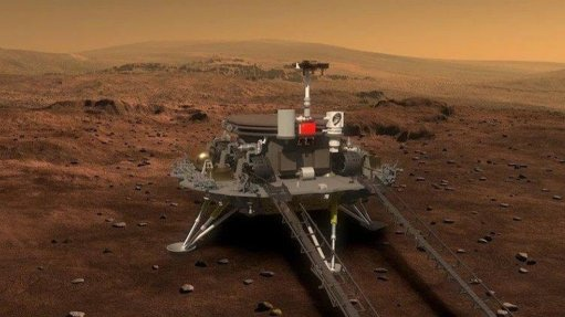 China's Zhurong rover successfully lands on Mars