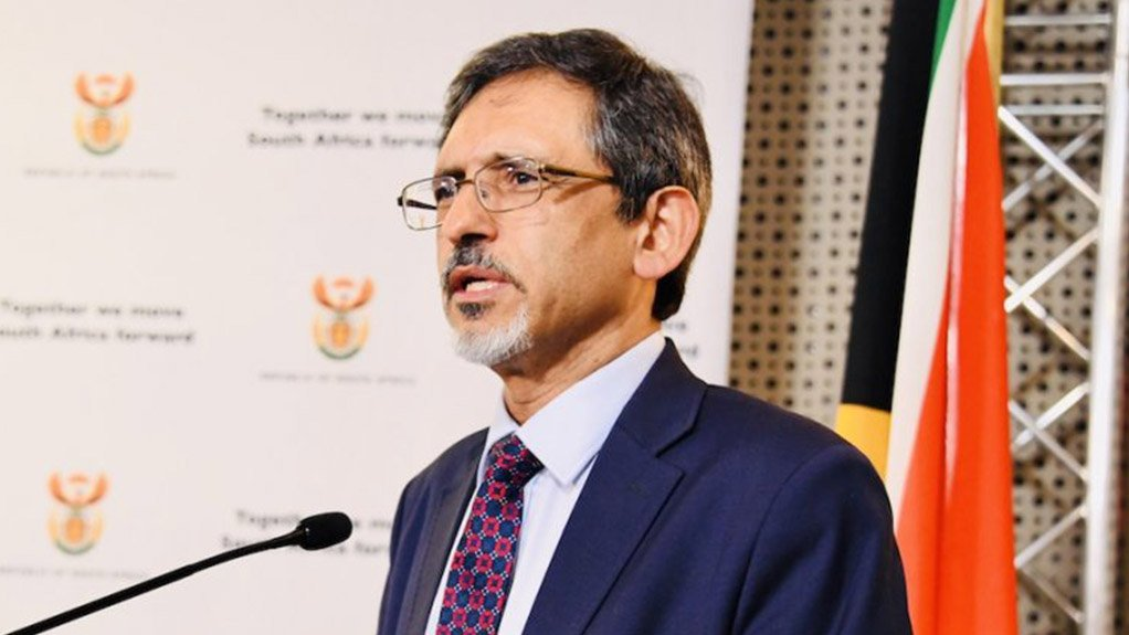 Trade, Industry and Competition Minister Ebrahim Patel