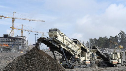 JAW CRUSHER AND SCREEN  Economical and environment-friendly electric drives are quickly gaining ground in contract crushing