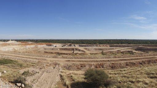 Menar's East Manganese mine, in Hotazel, Northern Cape