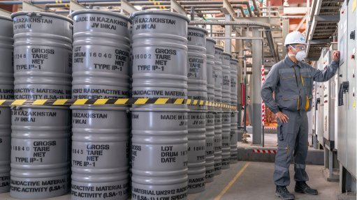 Uranium miner Kazatomprom first-quarter profit falls