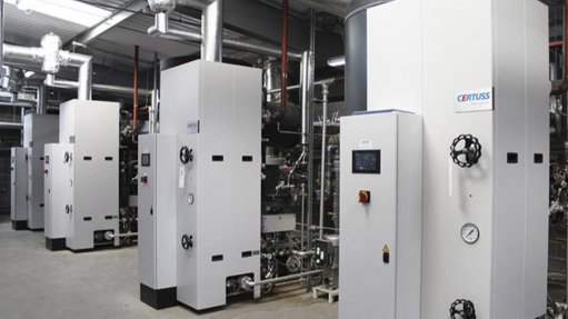 CERTUSS STEAM GENERATOR The key objective of this project is to overcome the disadvantages of a firetube by installing a CERTUSS steam generator, which reduces heat loss by 20%