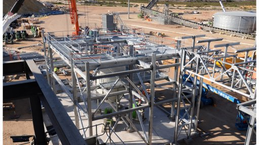 Kropz on track, within budget to commission Elandsfontein project